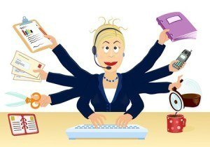 Stress-and-multitasking-at-the-office-Vector-illustration-300x210